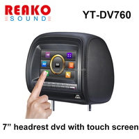 7 inch digital portable headrest car dvd player with Touch screen Model YT-DV760