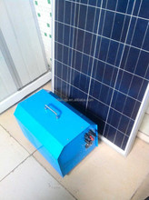 convenient portable solar power system 1000w 12v 76Ah battery 150w solar panel