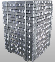 High Pure Zinc Ingots 99.995%