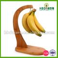 alta qualidade de madeira cabide de bambu banana atacado