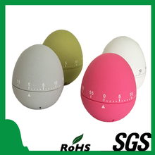 New Rubber Paint Egg Toy Shape 60 Seconds digital Timer Promotional Gifts for Kitchen
