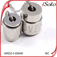 Wholesale lots stainless steel personalized jewelry pendant necklace