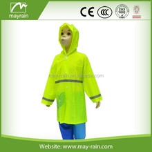 SAFETY CHILD RAIN WEAR WITH REFLECTOR