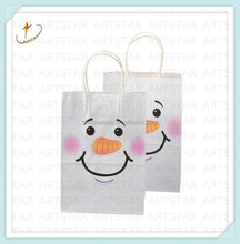 Mass production Custom foldable shopping bag kraft paper material