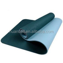 Eco TPE Anti-slip Durable Purple Hole Non-toxic Fitness Mat Wholesale China