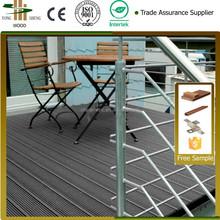 Outdoor plastic deck wpc floor covering
