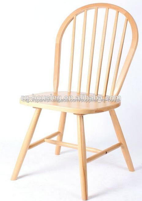 Modelos de silla de madera para sala de lujo moderno for Almohadones para sillas windsor