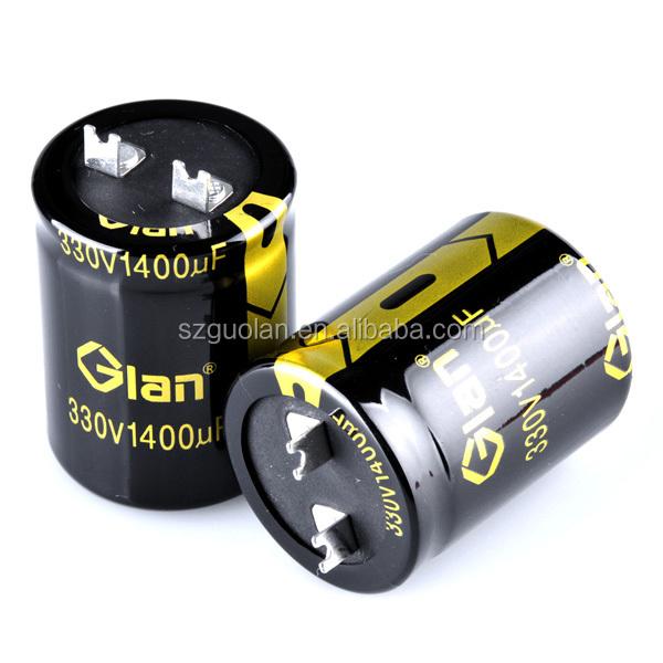 Wiper motor application 1400uf Capacitor 330wv1400mfd