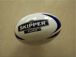 PVC/PU official size 5 promotional machine stitched rugby ball