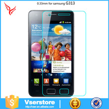 use for samsung G313 premium transparent glass made in chinese factory