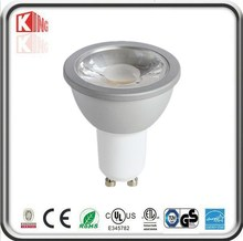 Most powerful 5W gu10 led dimmable, 38 degree ampoules led gu10 5000K