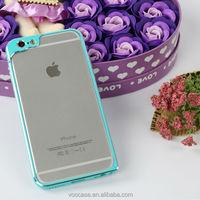 Sky Blue Color Aluminum Bumper New Design waterproof mobile phone case for iPhone 6