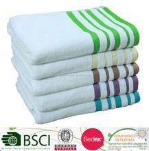 Cotton Dobby Bath Towel With Yarn Dye Border