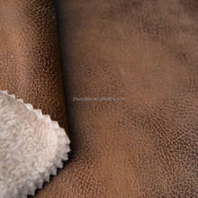 suede textile fabric faux fur for clothing