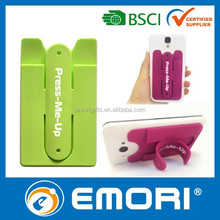 Personalized multifunctional silicone 3M pocket charger for mobile phone