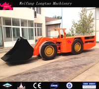 China made articulated 4x4 wheel drive underground loader with CE approved