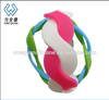 sports custom twist rubber band bracelet,twist wristband,multicolor twisted cable bracelet