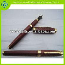 2014 New products on china market wooden fountain pen,wood fountain pen,wooden carving pen