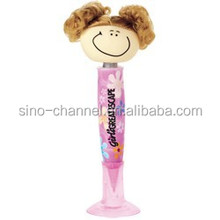 china wholesale promotional smiley stylus toy pen