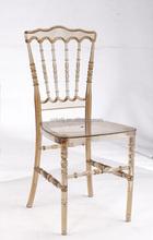 modern crystal clear transparent resin PC tiffany chiavari chair used banquet wedding hotel chair wholesale