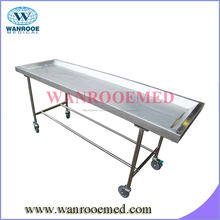 Acero inoxidable Tabla embalsamamiento <span class=keywords><strong>Funeral</strong></span>