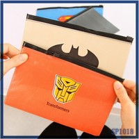 2015 New Cheap Cartoon Large Pencil Case for Girl Stationery from China