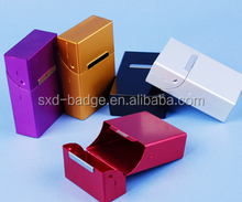 2015 Most popular colorful metal cigarette tin box with sliding lid made in China