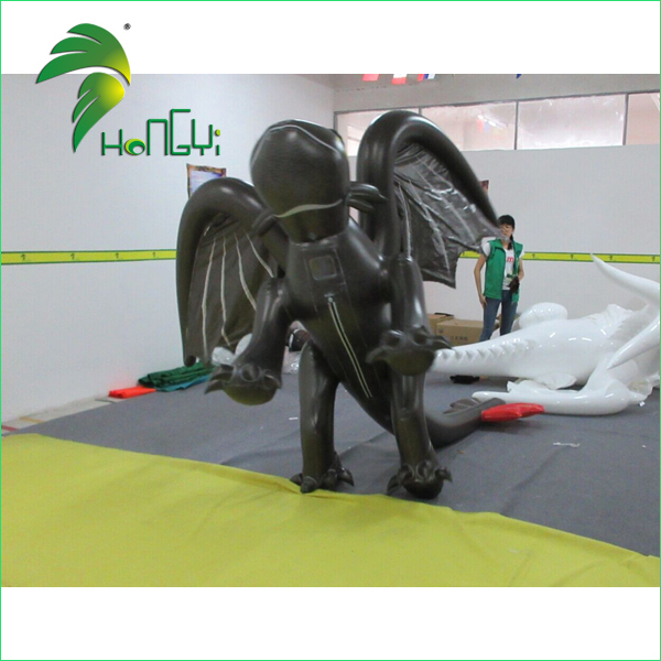 inflatable toothless dragon costume (3)