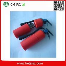 2015 newest fire extinguisher usb flash drive pen drive 4gb 8gb 16gb 32gb pendrives usb 2.0 memory stick mini usb fire control