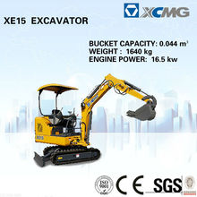 XCMG digger excavator XE15 Chinese mini digger for sale