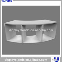 best selling durable wood display pedestals for counter shop