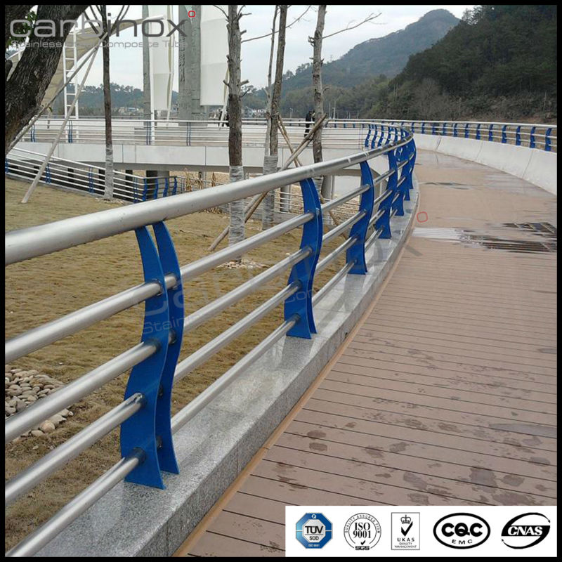 Swimming pool rail handles anti rust stair railing swim