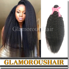 2016 new product 100 peruvian human hair yaki straight hair extensions