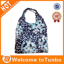Wholesale large size reusable pvc coated waterproof printed cloth shopping bag