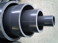 DIN ISO standard pvc grey pipe fitting for water supply