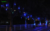 16 pixels 48CH waterproof led lighting Christmas meteor shower curtains