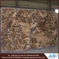 Polished marble granite block and synthetic granite