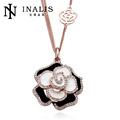 El precio de fábrica en forma de 2014 de moda los collares largos de la joyería de la flor - INALIS