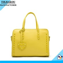 china wholesale 2014 the most popular handbag women leather bag