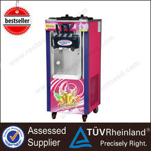 China Mainland CE & RoHs commercial soft serve Ice Cream