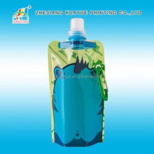 Soft Foldable Water Bottle Drink Spout Pouch,Drink Bottles Disposable,Foldable Water Bag
