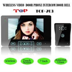 7 Inch 2.4G Wireless Camera Monitor Night Vision Doorbell, Smart Apartment Vedio Door Phone ,Two Way Intercom Vedio Door Phone