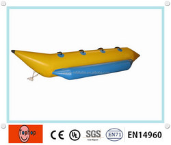 2016 new arrvail inflatable banana boat, inflatable water boat for sale