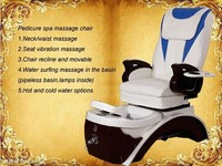 best quality chair salon/ equipo del salon de belleza pedicure spa chair