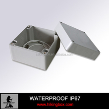plastic outdoor electrical junction enclosure /abs waterproof box 120*120*90mm