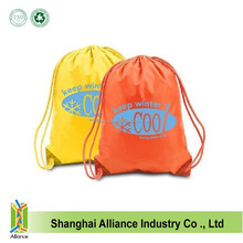 Top Quality Recycle Polyester Sport Drawstring Backpack Bag