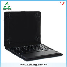 10 inch Detachable Bluetooth Keyboard Tablet Leather Case