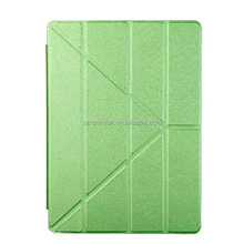 Leather Magnetic Ultra Thin Case Transparent Smart Back Cover For Apple iPad Pro 12.9 Inch