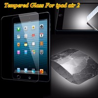 High Quality 9H Hardness Premium Tempered Glass Screen Protector For Apple iPad air 2
