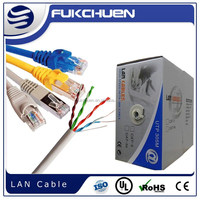 Hot sales Cat6e cat5e 4Pairs CCA, lan cable in network cheapest price